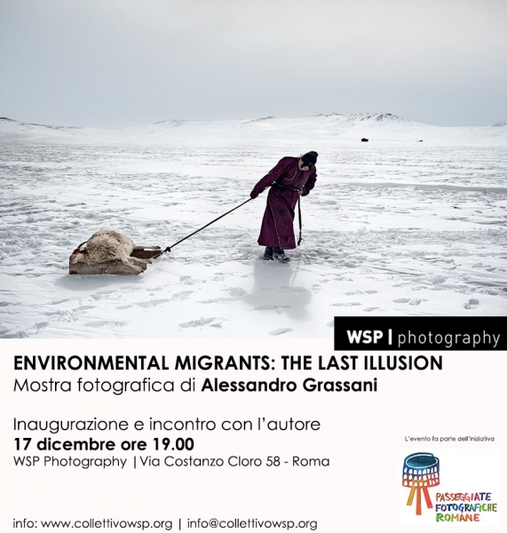 Environmental migrants: the last illusion. Mostra fotografica di Alessandro Grassani