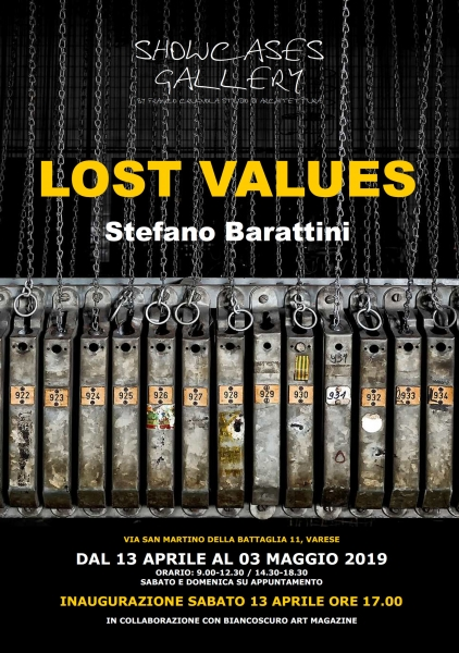 LOST VALUES Mostra personale di Stefano Barattini